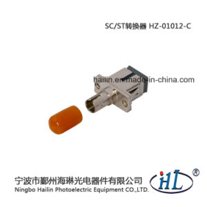 FTTH Sc-St/mm Fiber Optic Adapter with Low Insertion Loss pictures & photos