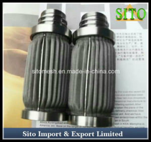 Pleated Woven Wire Mesh Stainless Steel Cartridge Filter pictures & photos