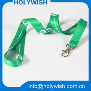Event Breakaway Ribbon Printed Polyester Neck Lanyards with Sublimation Logo pictures & photos