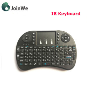 Russian Mini I8 Wireless Keyboard 2.4GHz Russian pictures & photos
