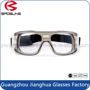 Factory Online Wholesale Shatterproof Cloth Transparent Eyewear Frames Highly Clarity of Vision Clear Safety Goggles pictures & photos