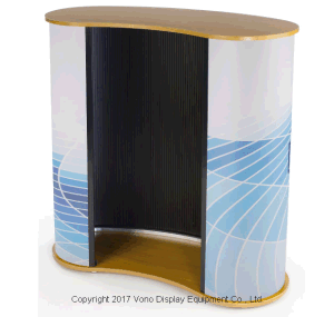 Exhibition Pop up Counter Tradeshow Display Counter Portable Counter pictures & photos