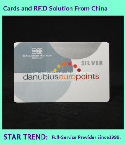 Plastic RFID Card with Laser Engravied Uid Code (13.56MHz/ISO 14443A) pictures & photos