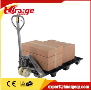 Manual Forklift Hydraulic Hand Pallet Truck Ce pictures & photos