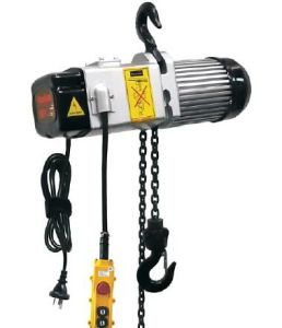 200kg Single Phase Hand Control Pendant Electric Chain Hoist pictures & photos