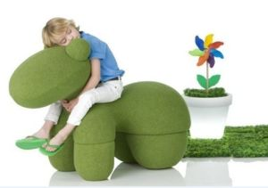 Eero Aarnio Pony Skin Chair for Kid pictures & photos