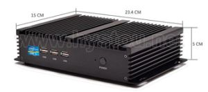 Hystou Fmp04 Intel Core I5 4200u Fanless Mini Industrial PC pictures & photos