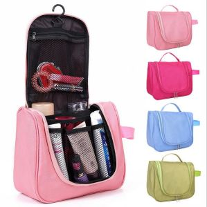 Portable Toiletry Cosmetic Bag Waterproof Makeup Make up Wash Organizer Zipper Storage Pouch Travel Kit Handbag Brand Design pictures & photos