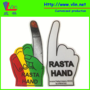 One Finger Foam Hand with National Flag and Logo pictures & photos