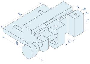 EDM Manual Square Precision Mechnical Vise pictures & photos