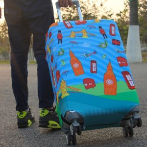 Hot Sale Wholesale fashion Protective Waterproof Luggage Cover pictures & photos
