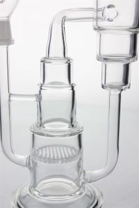 """12""""Inch Glass Smoking Pipe Percolators with Several Layer  Blue Percolator  and Thick Base pictures & photos"""