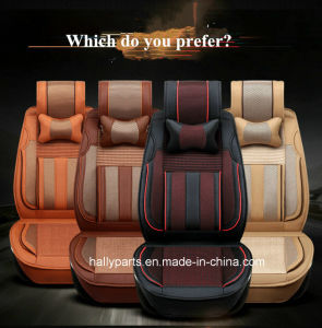Leatherette Car Seat Cover Flat Shape pictures & photos