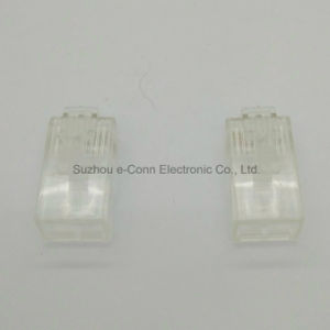 Transperancy Rj 6p6c Connector pictures & photos