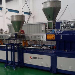 500kg/H CaCO3 Filler Masterbatch Pelletizing Line Equipment pictures & photos