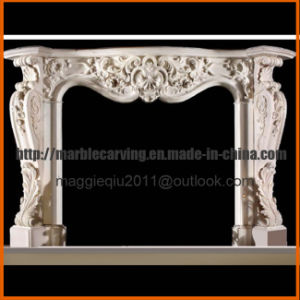 Gorgeous Marble Fireplace Mantel Mf1730 pictures & photos