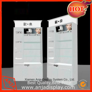 MDF Makeup Display Stand Cosmetic Display Unit pictures & photos