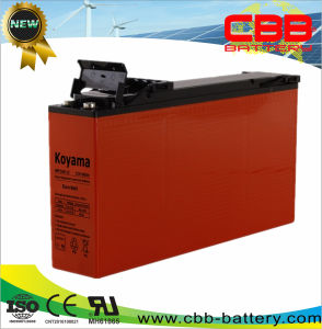 12V 160ah Front Access Terminal AGM Bankup Battery pictures & photos