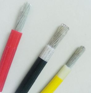 Awm3304 Fiber Glass Braid Silicone Rubber Wire pictures & photos