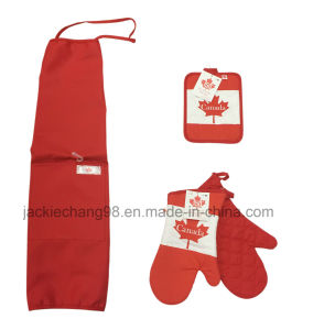 Oven Mitts Pairs/Aprons Coordinates/Printed Pot Holder pictures & photos
