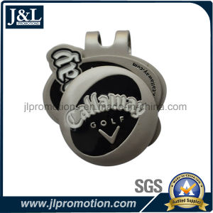 Customer Design High Quality Golf Hat Clip Satin Nickel Plating pictures & photos