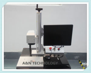 A&N 50W IPG Optical Fiber Laser Engraving Machine for metal pictures & photos