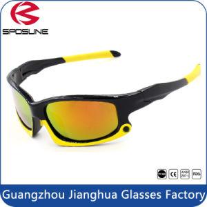 Hot Men Full Shield Sport Sunglasses Superlight Unbreakable Glasses pictures & photos