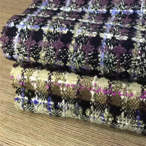 Checked Tweed Fabric for Jacket, Garment Fabric, Textile, Suit Fabric pictures & photos