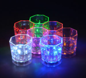 OEM Colorful LED Sensor Shining Drinking Cup for Promotion pictures & photos