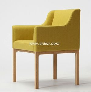 (SD-1007) Modern Hotel Wood Frame Fabric Upholstery Restaurant Armchair pictures & photos