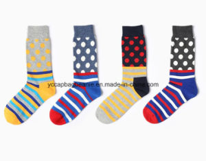 Fashion Bulk Wholesale Custom Happy Design Socks pictures & photos