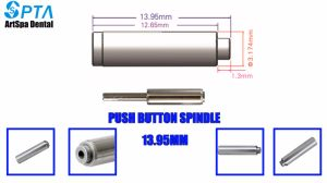 Dental Push Button Spindle/Axis for Maintenance Dental Handpiece pictures & photos