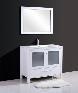 The Newest Style Bathroom Cabinet (white matt/ black matt)