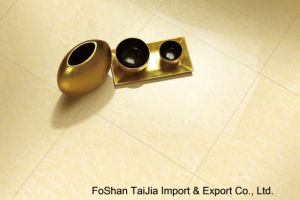 Buliding Material 600X600mm Yellow Tulip Porcelain Polished Tile (TJ6502) pictures & photos