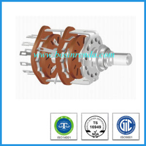 Hot Sale 25mm Solder Lug Type Rotary Route Switch pictures & photos