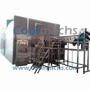 Fluidized Tunnel Freezer for Vegetables Fruits Shrimps Seafood pictures & photos