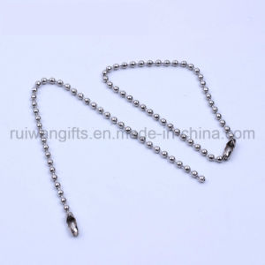 Wholesale 2X150mm Metal Ball Chain, Hang Tag Steel Ball Chain pictures & photos