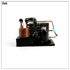 Compact Condensing Unit with Mini Compressor for Micro and Mobile Refrigeration System pictures & photos