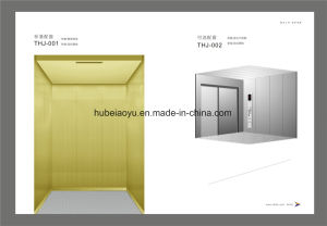 Machine Roomless Freight/Goods Elevator with Vvvf Control System pictures & photos