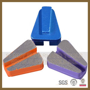 Diamond Trapezoid HTC Metal Bond Concrete Grinding Segment for Floor Grinding Machine pictures & photos