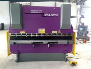 Hydraulic Nc Press Brake Machine (WF67K-100T/3200) pictures & photos