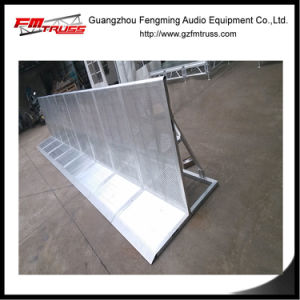 Aluminum Alloy Metal Barrier Fence System for Event pictures & photos