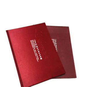 Promotional Gift Thread Stitching Customized Hardcover Photo Book Printing pictures & photos