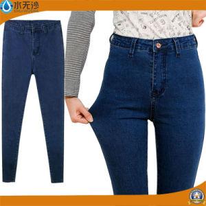 Custom Ladies Brand Fashion Skinny Straight Denim Jeans pictures & photos