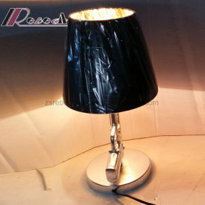New Gun Type Base Pk Shade Table Lamp for Reading pictures & photos