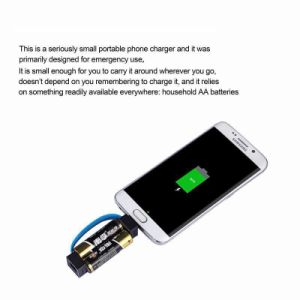 2017 New Mini Emergency Charger for Mobile Phone pictures & photos