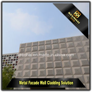 Perforated Aluminium Sheet Metal Modern Building Facade Panel pictures & photos
