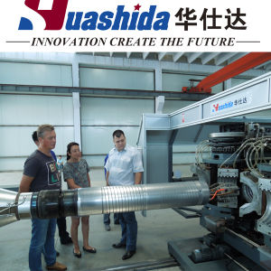 Plastic Machine Extrusion Line for Corrugated Drainage Pipe pictures & photos