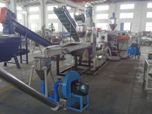 Water-Ring PE/PP Plastic Film/Bag Recycling and Pelletizing/Granulation Agglomeration Production Line pictures & photos
