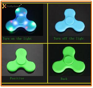 New Design Hand LED Light Wireless Bluetooth Speaker Fidget Spinner pictures & photos
